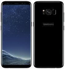 "Samsung Galaxy S8 SM-G950F Midnight Black (FACTORY UNLOCKED) 5.8"" 64GB 4GB RAM"