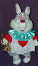 Alice in Wonderland Royal White plush Rabbit
