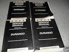 2005 DODGE DURANGO SUV TRUCK Service Repair Workshop Shop Manual Set Factory