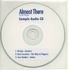(852D) Almost There, Joe Simpson - DJ CD