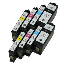 8 pack Lexmark 150XL Compatible Ink Cartridge For Lexmark 150 XL S315 S415 S515