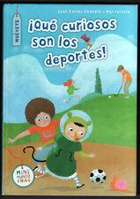¡ QUE CURIOSOS SON LOS DEPORTES! - JUAN CARLOS CHANDRO Y MAR FERRERO