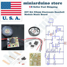 Doorbell Component Suite Electronic Production Door Bell Diy Kit Ne555 Chip