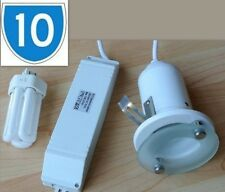 10x Fire Rated Recessed Ceiling Spotlights Downlighter Downlights PL Fittings