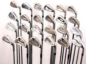 Lot of 24 Golf Single Irons Armour Titleist TaylorMade Ping Callaway Wilson RH