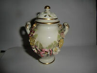 Early 19th Century Crown Derby Floral Encrusted  Pot Pourri - Circa 1815