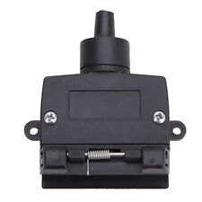 7Pin Trailer Socket Light Plug Connector Line Group Flat Car Boat Female Adapter