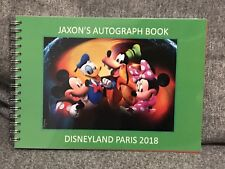 Personalised Disney Mickey Autograph Book