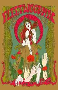 Fleetwood Mac Concert Music Vintage Poster Print T1538  A4 A3 A2 A1 A0 