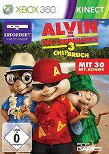 Alvin y los chipmunks 3 -- chip fraccionarias (Kinect) - Microsoft Xbox 360 -- nuevo y en su embalaje original