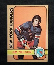 1972 72-73 OPC Jim Neilson (60) N.Y. Rangers Mint Sharp!