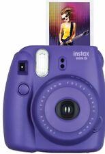 Fuji Instax Mini 8 Fujifilm Instant Film Camera Grape / Purple__Factory Sealed!
