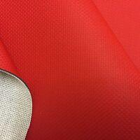 TOP Auto- Motorrad- Boots Kunstleder Meterware ROT wie Carbon Optik 140cm breit!