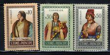 1952 ST. THOMAS & PRINCE ISLANDS🏝️ 3-Stamp Set SC357-59 A15 MNH OG