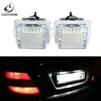License Plate Light signal lamp Lamp For Mercedes W204 W212 W216 W221 Error Free