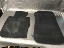 12 13 14 15 BMW X1 E84 28I 35I X-DRIVE BLACK CARPET FLOOR MATS OEM Front only
