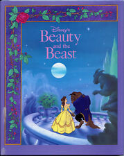 BEAUTY & THE BEAST Illustrated Signed RON DIAS DISNEY CEL DRAWING BOOK 1991 RARE