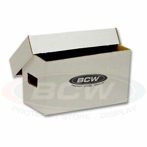 "1 Case (10) BCW 45 RPM Vinyl Record Cardboard Storage Boxes 7"" Bundle Box"