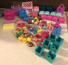 Lot of 75 Shopkins Figures and Accessories Mixed Lot Toys Free Shipping