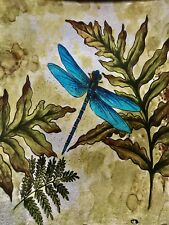 Angelstar Cozenza Collection Dragonfly Spirit 7.5 Square