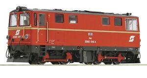 Roco 33296, HOe gauge, 2095 Class Diesel Locomotive , 024-3 in OBB crimson