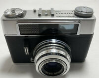 Vintage Voigtlander Vitoret DR 35mm Camera with Prontor 300 Lens And Case