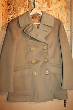 Identified WW2 U.S. Army Air Forces Weather Man's (Lt) Short Officers Wool Coat