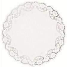 """White Round Doilies (4 Pack) 16 1/2"""""""