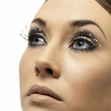 Long Black Eyelashes with Beaded Tips