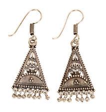 Silver Indian Jewellery Women Earrings