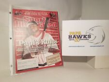 June 2006 Sports Illustrated - David Ortiz - Cover Only!