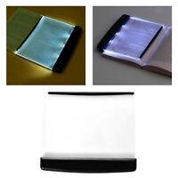 Portable LED Livre Lumière Bureau Tablette de Lecture Plat Lampe Panneau