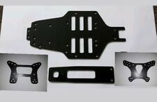 tamiya top force custom evo style carbon fibre chassis set