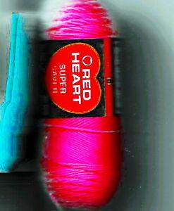 Red Heart Super Saver  7-Oz Pr etty 'N Pink #0722 364 yds