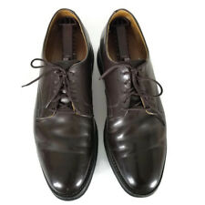 Work America Leather Oxford Lace Up Dark Brown Men's Size 11 D