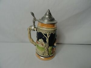 Vintage Handarbeit German Beer Stein