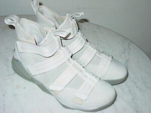 2017 Nike Lebron Soldier 11 SFG Light Bone/Dark Stucco/Black Shoes! Size 10
