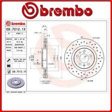 09.7012.1X#81 DISCO FRENO ANTERIORE SPORTIVO BREMBO XTRA VW GOLF IV Variant (1J5