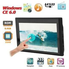 7in Bus Truck Mirror Touch Screen Car GPS Navigator Navigation 8GB w/NA Free Map