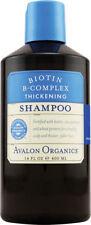 Biotin B-Complex Thickening Shampoo, Avalon Active Organics, 14 oz