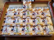 LOT OF 16 Nano Metalfigs Street Fighter Metal Figures FREE SHIPPING! NEW IN BOX!