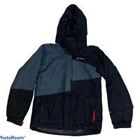 Columbia Omni-Tech Hooded Ski/Snowboard Winter Jacket Omni-Heat Youth (10-12)