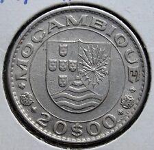 1972 Mozambique Portuguese Colony Coin 20 $00 Escudos MOÇAMBIQUE KM# 87