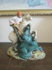 Royal Doulton England Porcelain Figurine Hn 2051 St. George