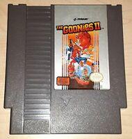 The Goonies II 2 Nintendo NES Vintage classic original retro game cartridge