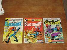 BLACKHAWK #245 246 250 DC HIGH GRADE BRONZE AGE WAR COMICS MOVIE COMING SOON!!