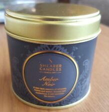 Shearer Candles Amber Noir Large Candle tin