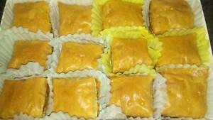 Traditional Walnut or Pistachio Baklava-sugar or sugar free