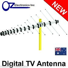 Digital TV Outdoor Antenna UHF VHF FM 4 AUSTRALIAN conditions Country Areas LPD-