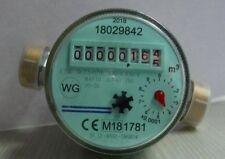 """Wasserzähler kalt akt. Eichung 1/2"""" (3/4""""ÜW Anschluß)110mm QN 1,5 m³/h Wasseruhr"""